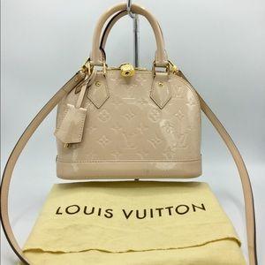 Louis Vuitton Alma BB Vernis Leather PM Bag